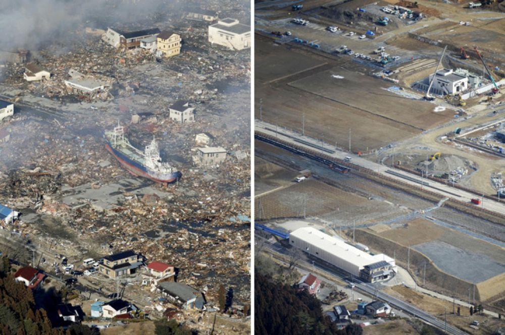 Город Кесеннума, находящийся в префектуре Мияги.