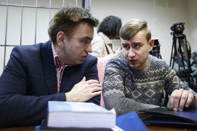 Ростислав Храпачевский вместе со своим адвокатом