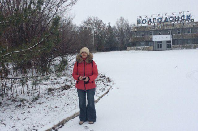 Волгодонский аэропорт, февраль 2016 года.