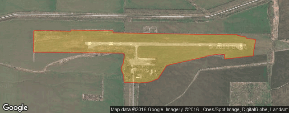 Викимапия, вид на аэропорт из космоса.