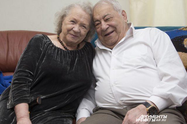 Дмитрий и Тамара Миндиашвили.