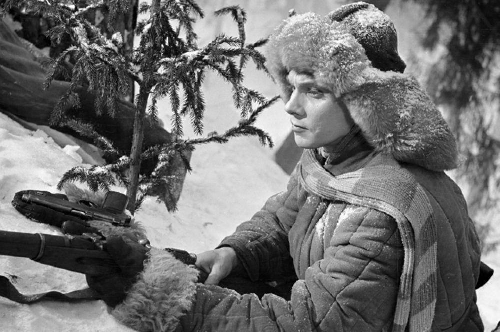 Кинофильм «Жестокость» (1960 год, режиссёр Владимир Скуйбин). Актёр Георгий Юматов в роли Малышева.