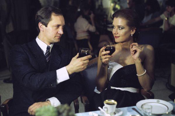 В фильме «Высший класс», 1991 год.