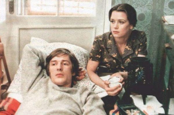 Со вторым мужем Александром Абдулловым в фильме «С любимыми не расставайтесь», 1979 год.