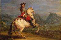 Людовик XIV во время осады Безансона в 1674 году.