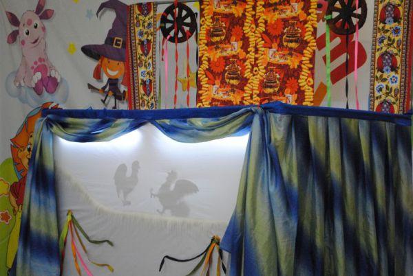 Театр теней на весенние темы.