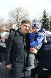 Министр здравоохранения области Павел Дегтярь заглянул к нам на огонёк с маленьким сынишкой.