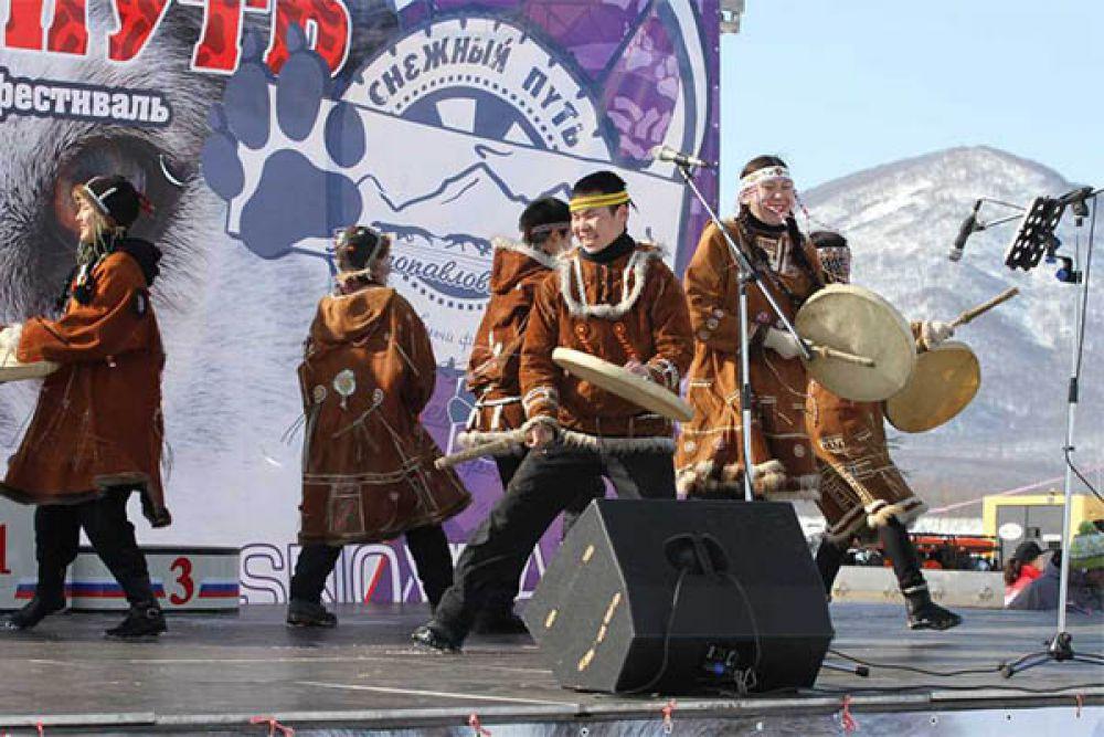 Выступление камчатских коллективов.