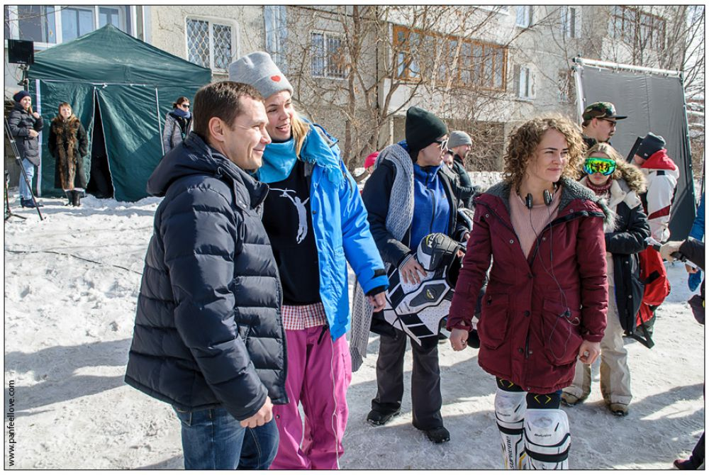 На площадке даже побывал мэр Иркутска, который тоже с удовольствием сфотографировался на память.