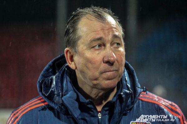 Сергей Павлов - главный тренер тульского клуба.