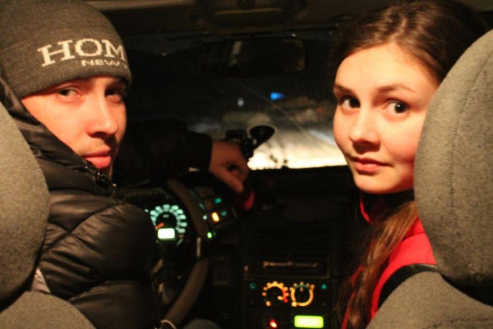 """Евгения Катаева. """"Любимый катает на машине. Очень хочу сама сесть за руль""""."""