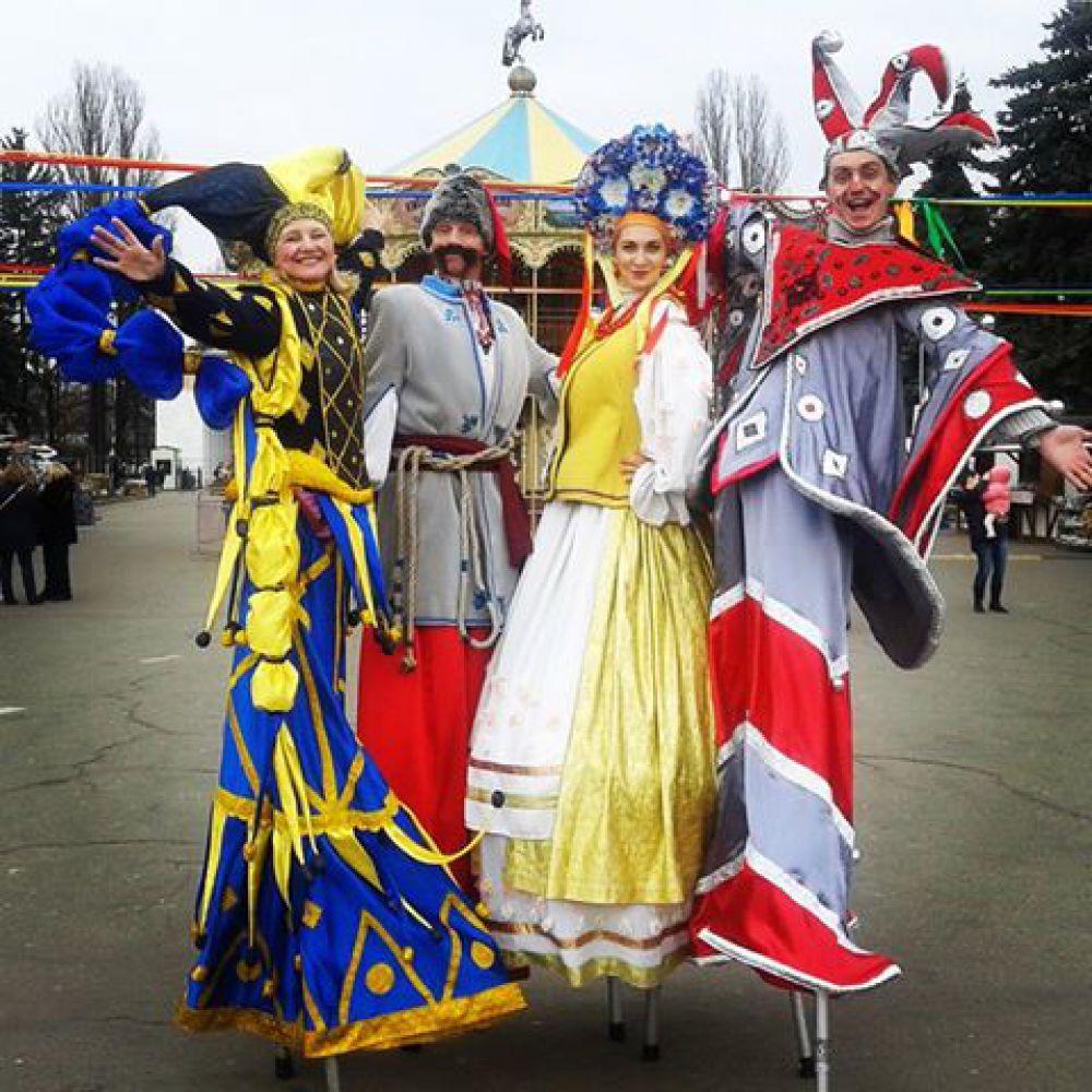 Но, скучно киевлянам и гостям столицы точно не было