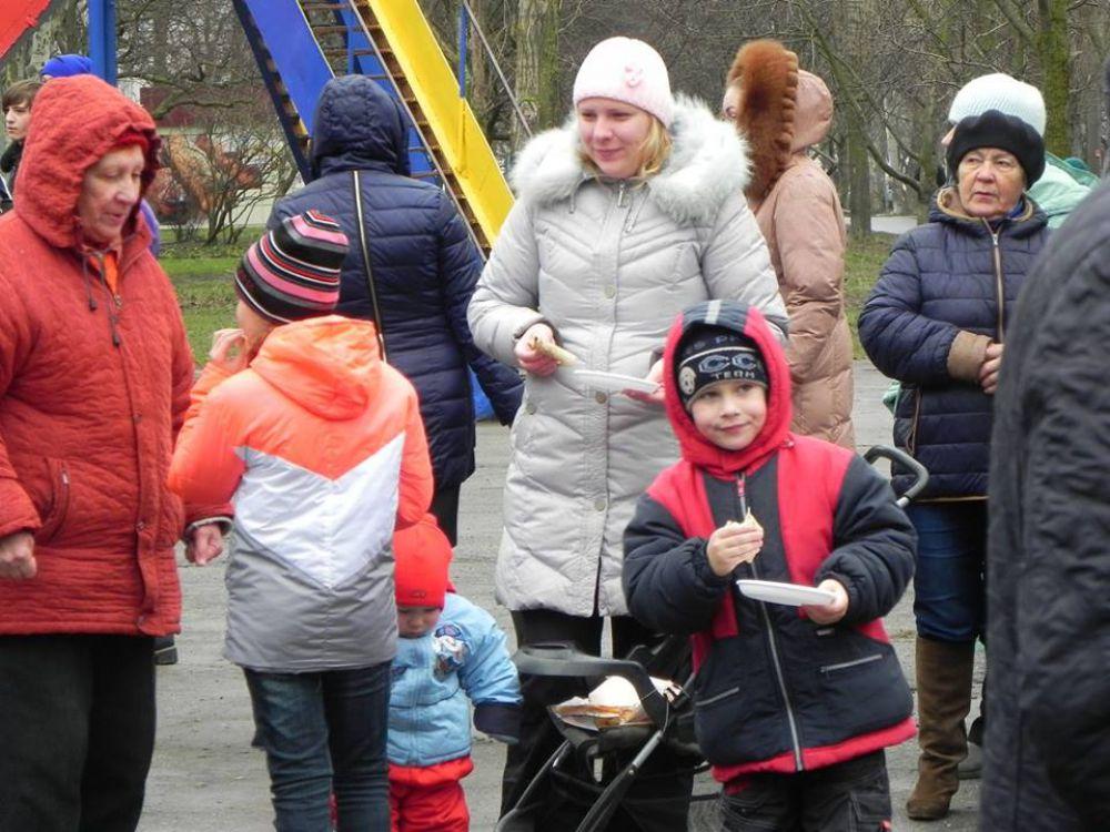 Детишки на празднике повеселились от души