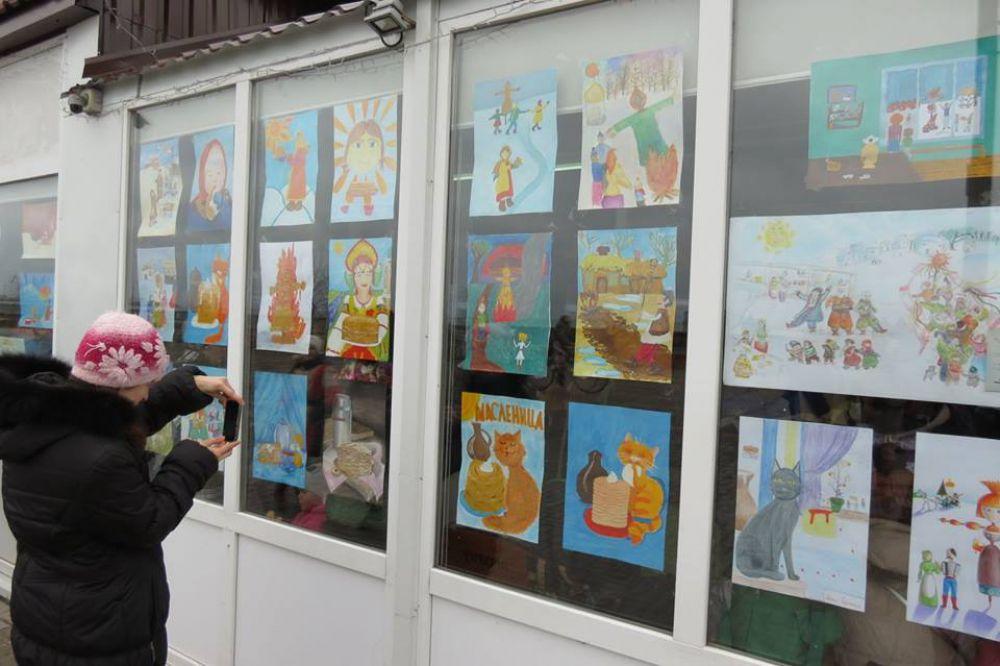 А дети еще в Запорожье прошел конкурс рисунков