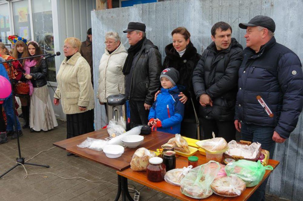 В Запорожской области в этот праздник тоже не обошлось без блинов