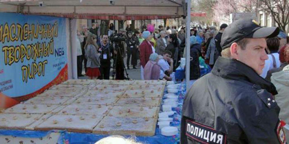 А вот в Крыму на гуляние попали не все желающие