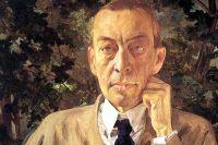 Портрет С. Рахманинова. Константин Сомов. 1925 год.