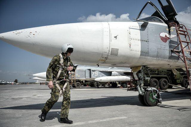 Авиабаза «Хмеймим» в Сирии.