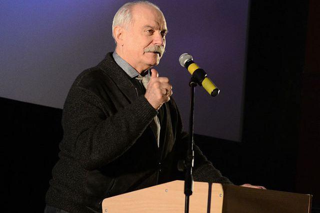 Никита Михалков открыл Год кино в кинотеатре, где после состоялся показ его фильма