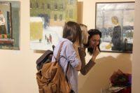 Посетители на выставке «Частная жизнь» в Сургуте