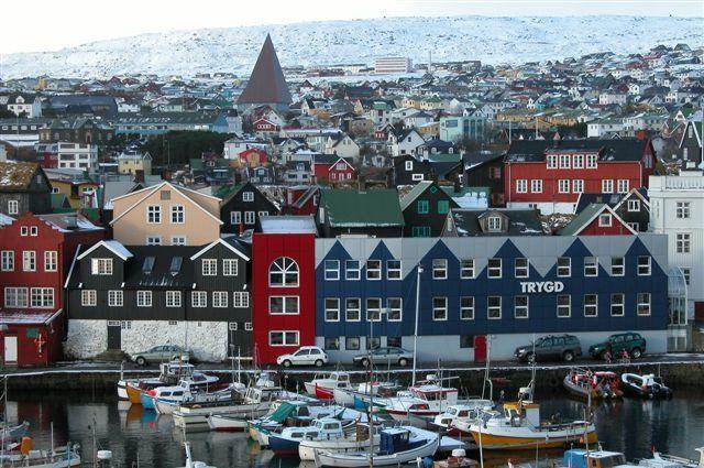 Столица Фарерских островов г. Торсхавн.
