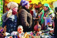 Восточный базар - неизменный символ празднования Навруза.