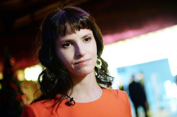 Режиссёр Анна Матисон на предпремьерном показе фильма «Млечный путь» в Москве.