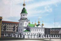 Останки младенца обнаружили во время строительных работ на месте Воскресенского собора в Омске.