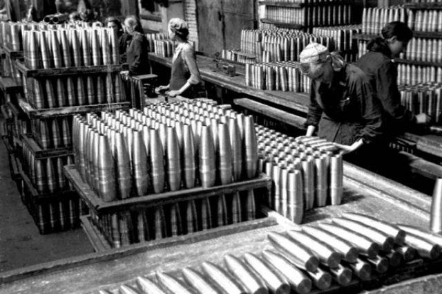 Ульяновск. Патронный завод. 1942 г.