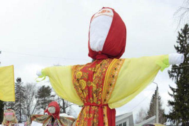 Отметить Масленицу в Ильинский приехали жители Перми и других районов края.