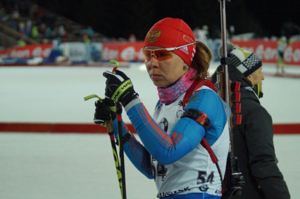 Представительница сборной Югры Екатерина Шумилова.