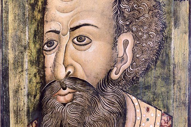 Парсуна Ивана Грозного из собрания Национального музея Дании (Копенгаген), к. XVI — нач. XVII вв.