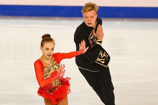 Екатерина Борисова и Дмитрий Сопот.