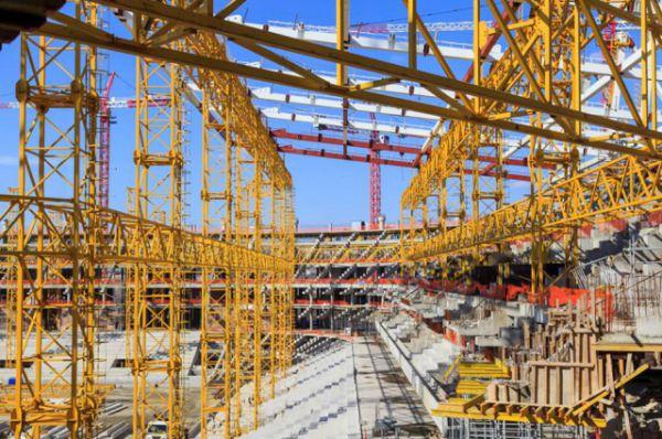 11 января «АиФ-Ростов» сообщал, что на стройке главного спортивного объекта области завершается устройство железобетонных перекрытий.