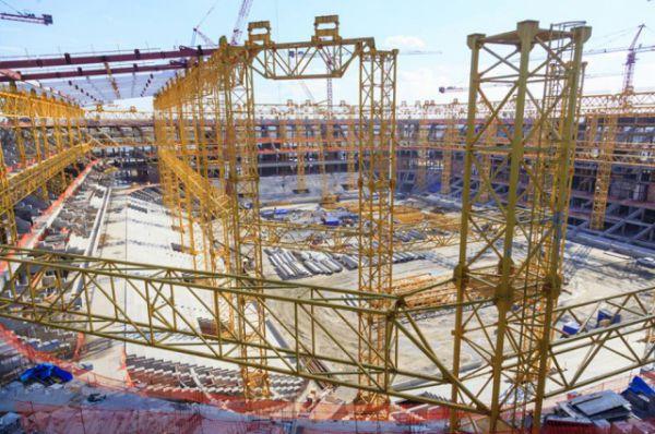 Стадион «Ростов-Арена», будет защищён противовзрывными ограждениями. Установка трех таких ограждений предусмотрена с северной и западной стороны стадиона.