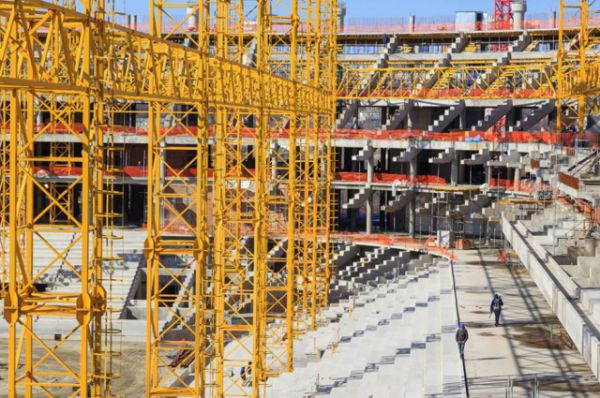 Газопровод, который обеспечит газоснабжение стадиона, введён в эксплуатацию в левобережной части донской столицы 10 февраля.
