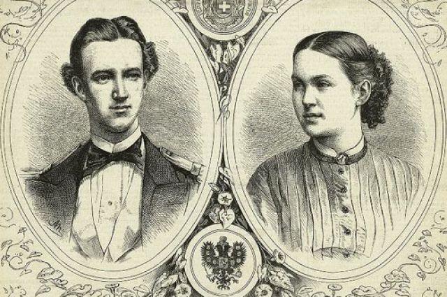 Георг I и Ольга Константиновна
