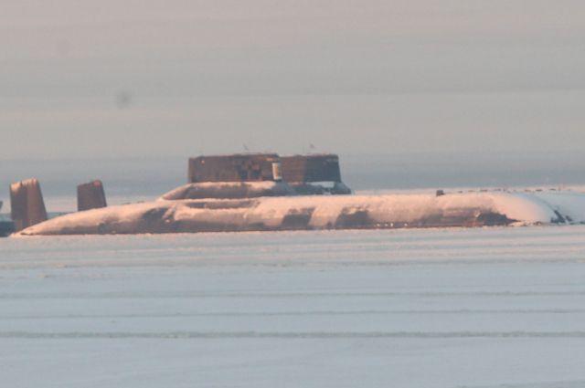 Атомная подводная лодка «Акула»