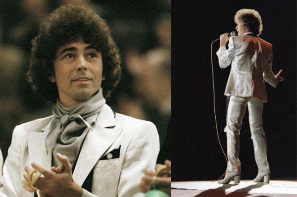 Эстрадный певец Валерий Леонтьев. 1982 год