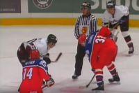 Чемпионат мира по хоккею 2000, Санкт-Петербург, Россия – Латвия.
