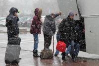 Аэропорт Ростова-на-Дону после катастрофы Boeing