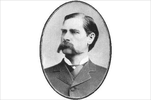 Уайетт Эрп в Сан-Диего, примерная дата снимка — 1887 год.