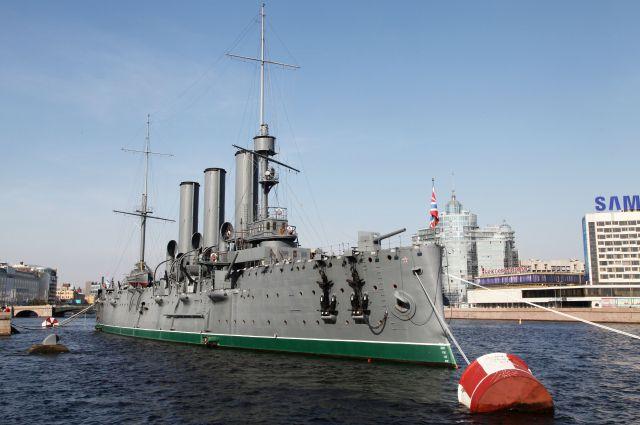 Флагман с осени 2014-го года ремонтируется на Морском заводе в Кронштадте.
