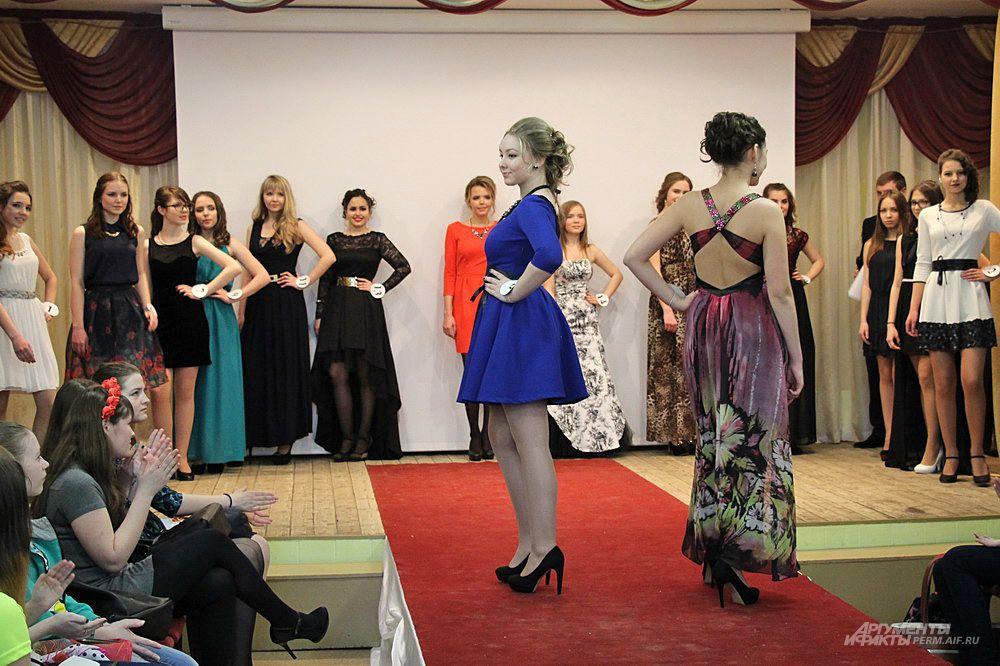 Самый запоминающийся этап конкурса дефиле в вечерних платьях