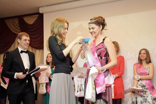 Первая вице-мисс Полина Мугутасимова.