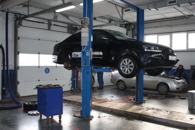 Клиентка сдала автомобиль на ремонт