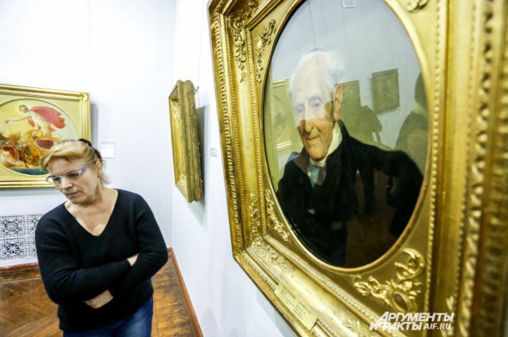 Брюллов создал богатейшую портретную галерею своих современников (около  80 портретов)