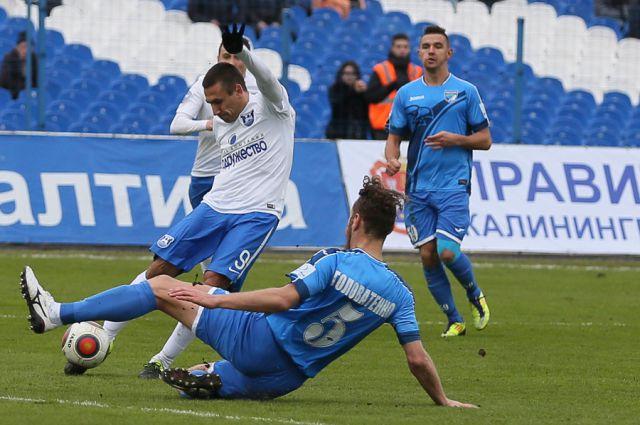 «Балтика» с разгромным счетом на своем поле обыграла новосибирскую «Сибирь».