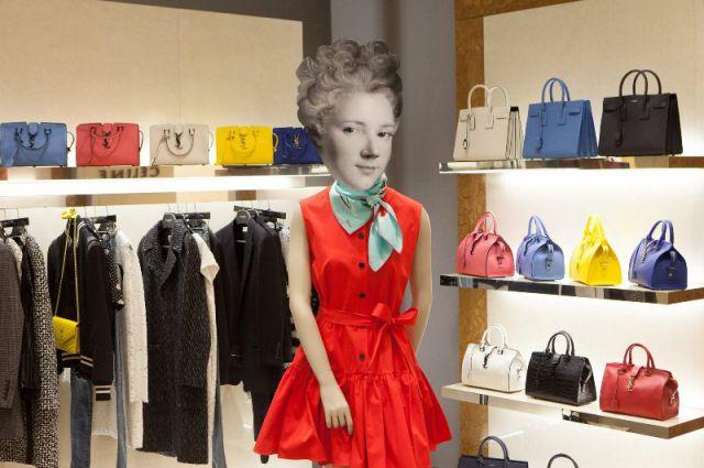 Новая коллекция Ив Сен-Лоран в галерее бутиков «Лакшери Стор»