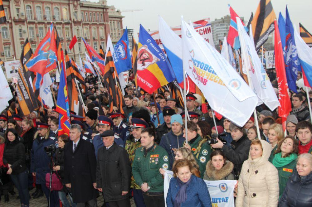 18 марта 2014 года в Георгиевском зале Кремля Президент РФ Владимир Путин подписал межгосударственный Договор о принятии Крыма и Севастополя в состав Российской Федерации.
